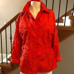 Ralph Lauren L-RL Lauren Active Jacket Orange sz M